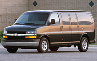 2009 Chevrolet Express, Left Front Quarter View, exterior, manufacturer