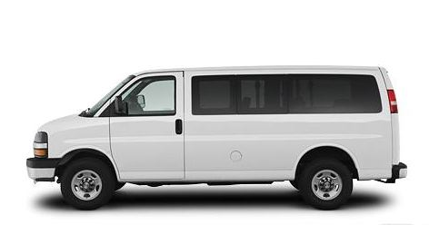 2009 Chevrolet Express, Left Side, manufacturer, exterior