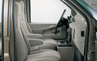 2009 Chevrolet Express, Right Side Interior View, manufacturer, interior