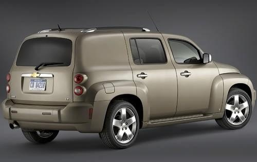 2009 Chevrolet HHR, Right Back Quarter, exterior, manufacturer