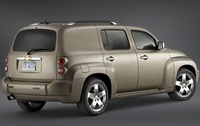 2009 Chevrolet HHR, Right Back Quarter, manufacturer, exterior