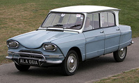 1970 Citroen Ami Overview