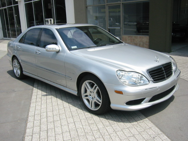 2004 Mercedes-Benz S55 AMG 4 Dr Supercharged Sedan picture