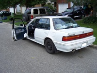 1991 Honda Civic DX, 1991 Honda Civic 4 Dr DX Sedan picture, exterior