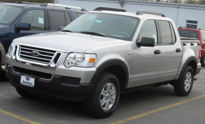 2007 Ford Explorer Sport Trac >> 2007 Ford Explorer Sport Trac Overview Cargurus