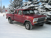1979 Ford F-150, The extremely rare Ranger XLT Supercab Shortbox, exterior