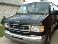 1997 Ford E-150 Chateau Club Wagon, 1997 Ford E-150 3 Dr Chateau Club Wagon Passenger Van picture, exterior