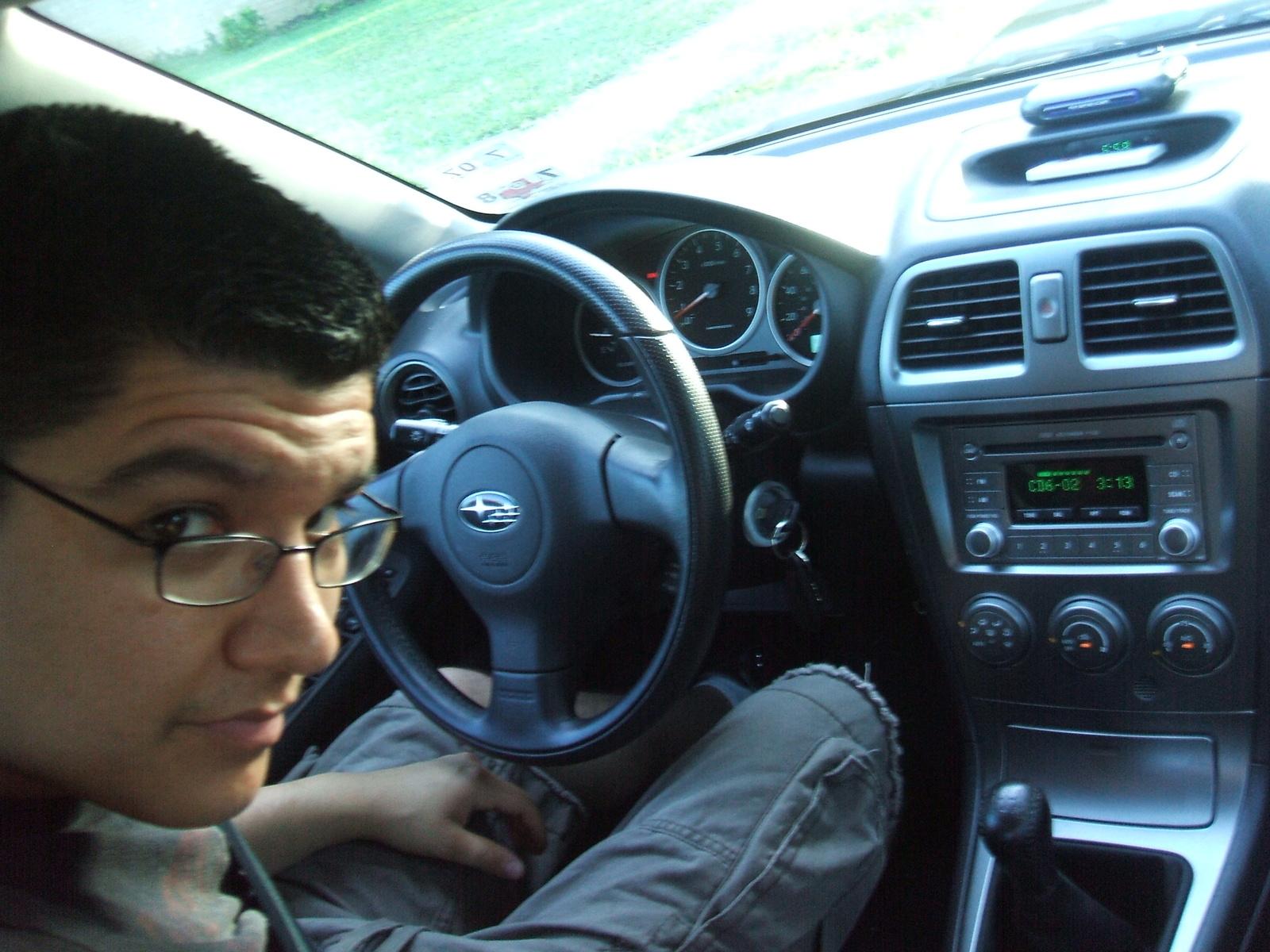 Picture of 2005 subaru impreza wrx interior