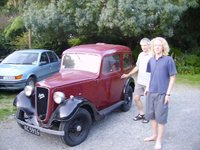 1936 Austin 7 Overview
