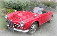 1961 Alfa Romeo Giulietta Overview
