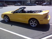 1995 Ford Mustang GT Convertible, 1995 Ford Mustang 2 Dr GT Convertible picture, exterior
