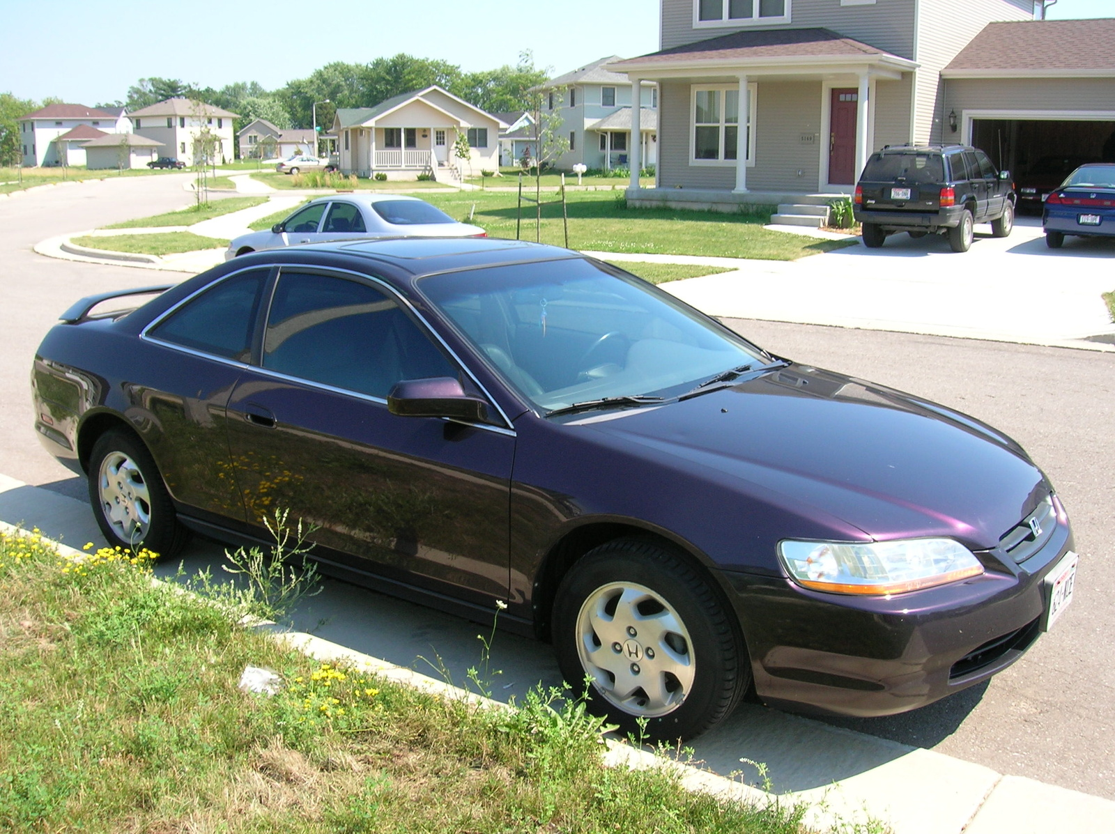 1998 Honda Accord EX Coupe, 1998 Honda Accord 2 Dr EX Coupe picture, exterior