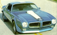 1972 Pontiac Firebird Overview