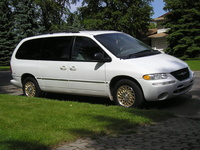 1996 Chrysler Town & Country, 1993 Chrysler Town & Country Chrysler Town and Country STD picture, exterior