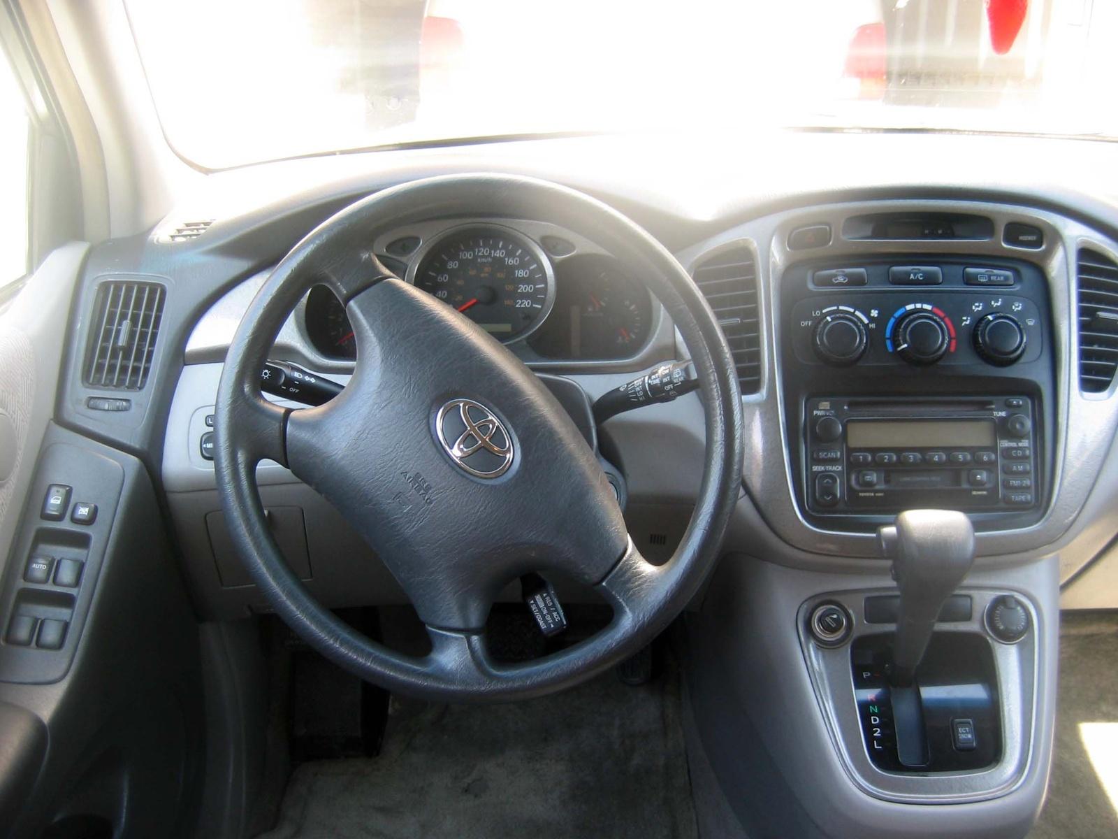 2002 Toyota Highlander Interior Pictures Cargurus