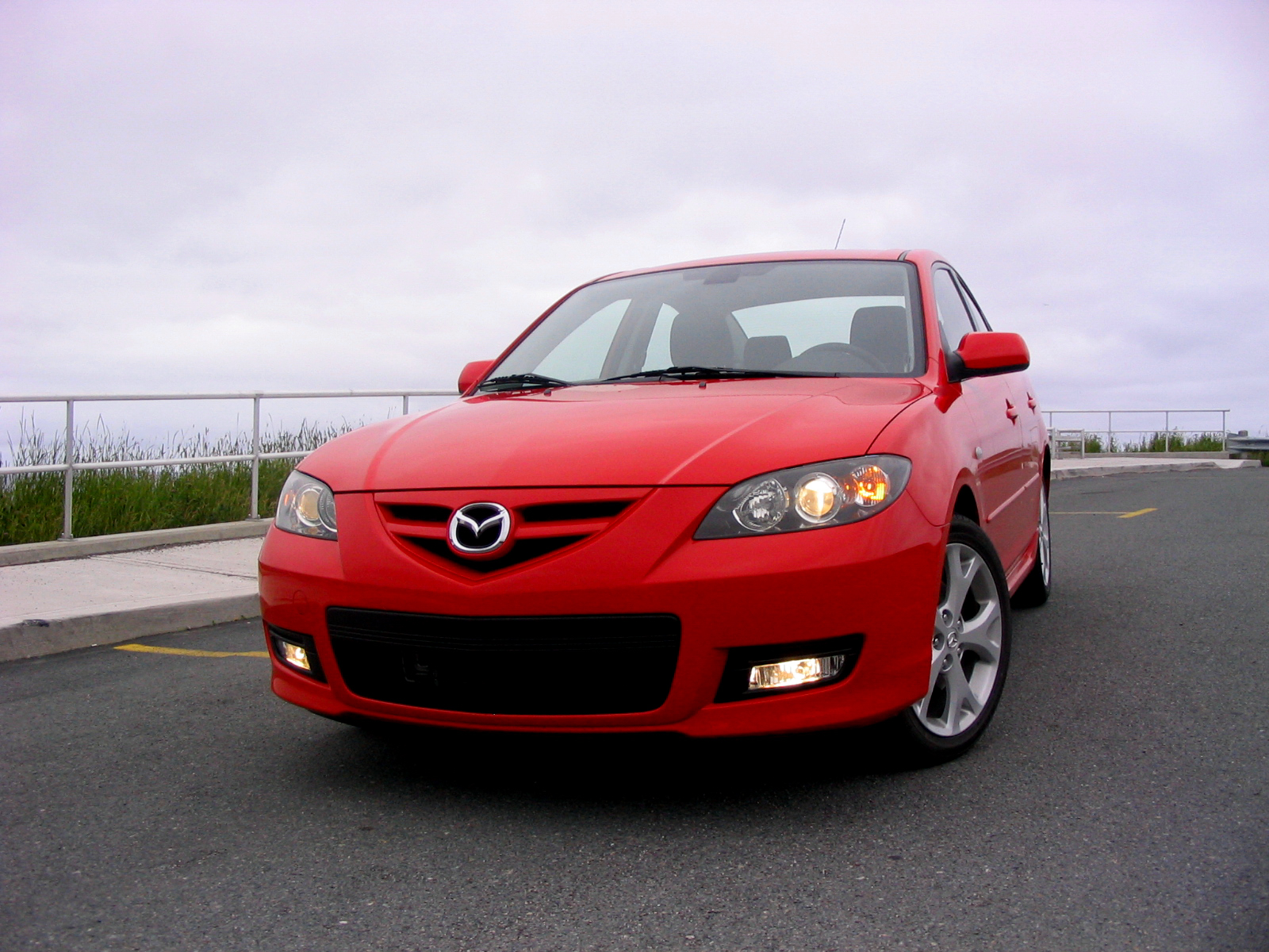 picture of 2008 mazda mazda3 s grand touring exterior. Black Bedroom Furniture Sets. Home Design Ideas