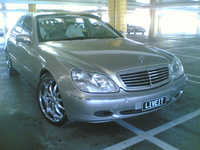 2000 Mercedes-Benz S-Class 4 Dr S430 Sedan, 2000 Mercedes-Benz S430 STD picture, exterior
