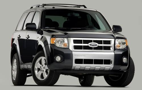 2009 Ford Escape, Front Right Quarter View, exterior, manufacturer