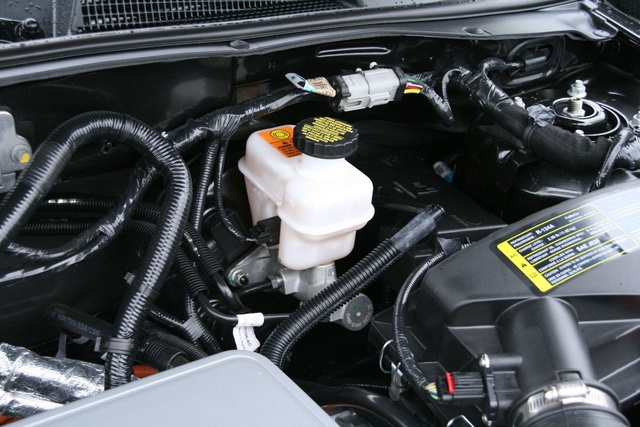 2009 Ford Escape Hybrid, Engine View, exterior, manufacturer