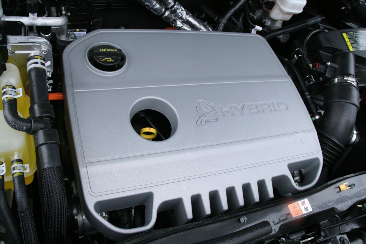 2009 Ford Escape Hybrid, Engine View, interior, manufacturer