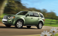 2009 Ford Escape Hybrid, Right Side View, manufacturer, exterior