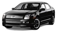 2009 Ford Fusion, Black Front Left Quarter, exterior, manufacturer