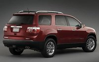 2009 GMC Acadia, Back Right Quarter View, interior, manufacturer
