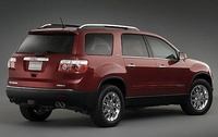 2009 GMC Acadia, Back Right Quarter View, manufacturer, interior