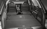 2009 GMC Acadia, Interior View, All Seats Down, manufacturer, interior