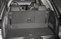 2009 GMC Acadia, Interior View, Back Seat Up, interior, manufacturer