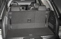 2009 GMC Acadia, Interior View, Back Seat Up, manufacturer, interior