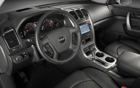 2009 GMC Acadia, Interior Front View, manufacturer, interior