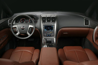 2009 GMC Acadia, Front Interior View, manufacturer, interior