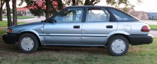 Picture of 1990 Geo Prizm 4 Dr STD Hatchback, exterior, gallery_worthy