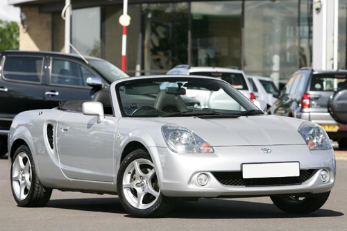 2004 Toyota MR2 Spyder 2 Dr STD Convertible picture