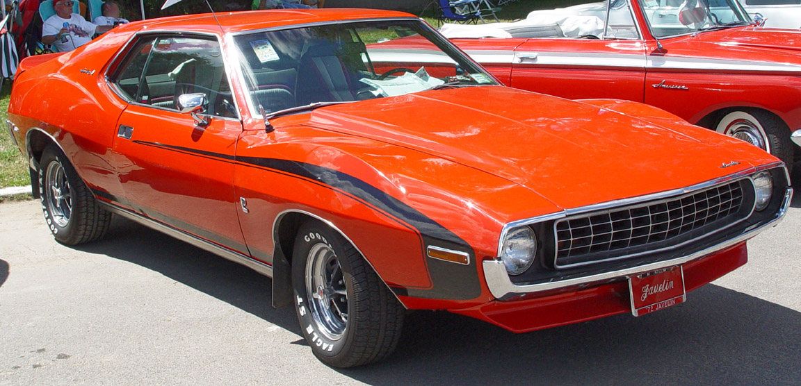 1972 amc javelin pictures cargurus for American classic motors for sale