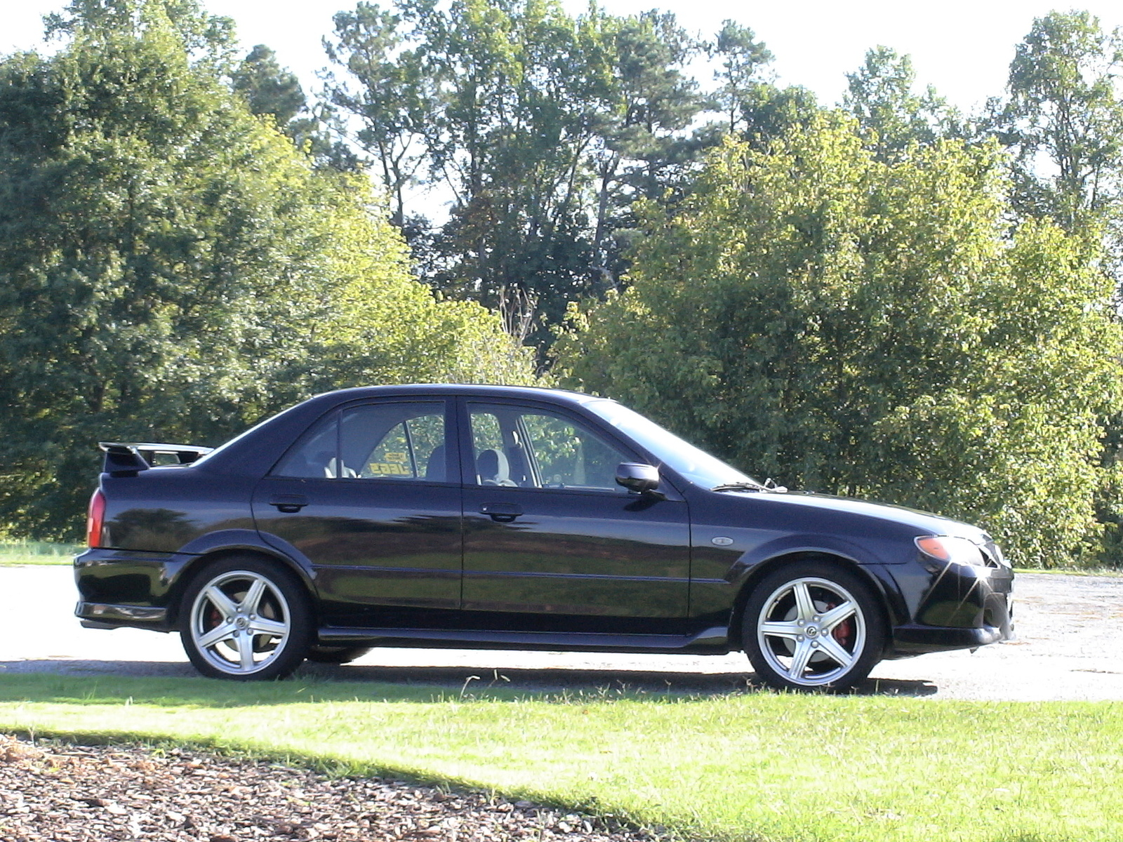 picture of 2003 mazda mazdaspeed protege 4 dr turbo sedan. Black Bedroom Furniture Sets. Home Design Ideas