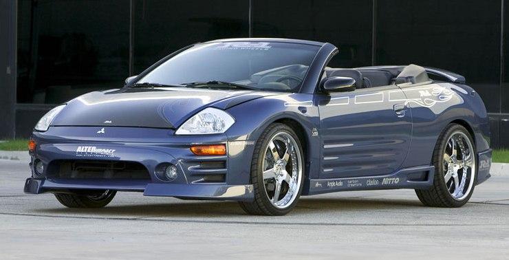 2004 Mitsubishi Eclipse Spyder GTS Spyder - Pictures - 2004 Mitsubishi ...