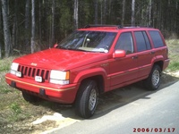 1994 Jeep Grand Cherokee Limited 4WD, 1994 Jeep Grand Cherokee 4 Dr Limited 4WD SUV picture, exterior