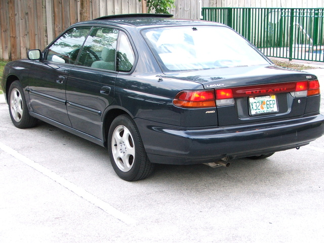 Picture of 1996 Subaru Legacy 4 Dr LS AWD Sedan, exterior
