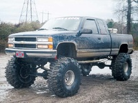 1995 Chevrolet C/K 1500 Ext. Cab 8-ft. Bed 4WD picture, exterior