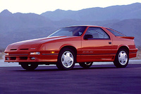 1991 Dodge Daytona Overview