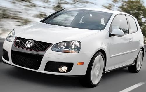 2009 Volkswagen GTI, Front Left Quarter View, exterior, manufacturer
