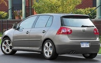 2004 Volkswagen GTI, Left Rear Quarter View, manufacturer, exterior