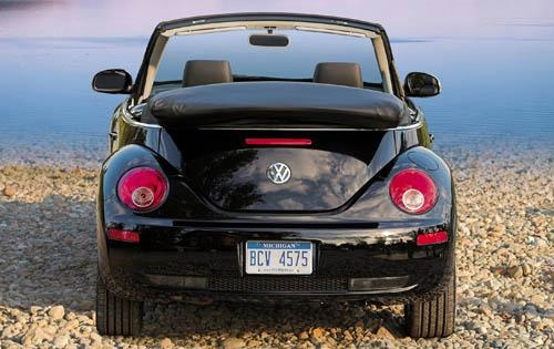 2009 Volkswagen Beetle, Convertible Back View, exterior, manufacturer