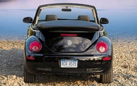 2009 Volkswagen Beetle, Convertible Back View, manufacturer, exterior