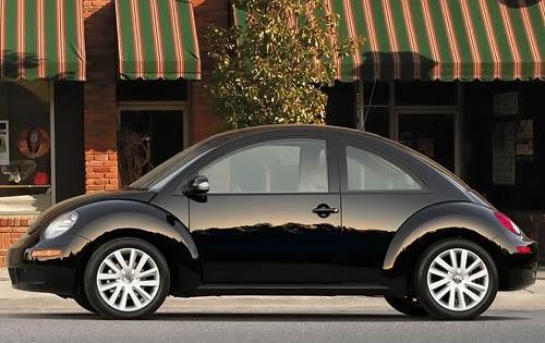 2009 Volkswagen Beetle, Left Side View, exterior, manufacturer