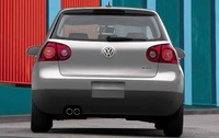 2009 Volkswagen Rabbit, Back View, manufacturer, exterior