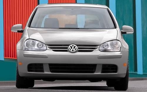 2009 Volkswagen Rabbit, Front View, exterior, manufacturer