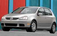 2009 Volkswagen Rabbit, Front Left Quarter View, exterior, manufacturer